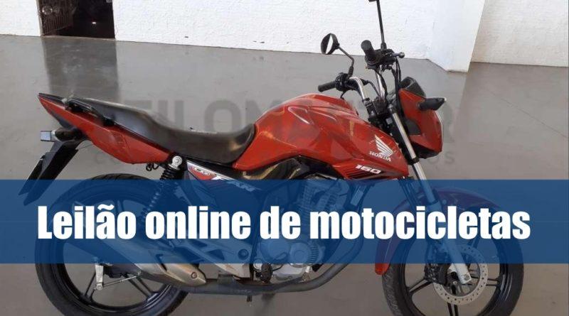 Leilão online de motocicletas da Leilomaster