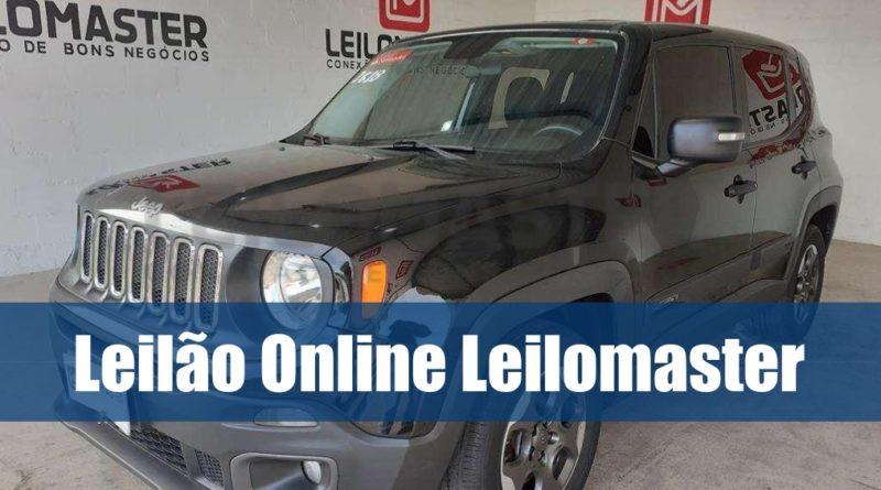 Leilão Online Leilomaster está aberto para lances