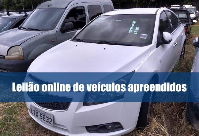 Leilão online pela Rebocar tem 24 veículos disponíveis para lance