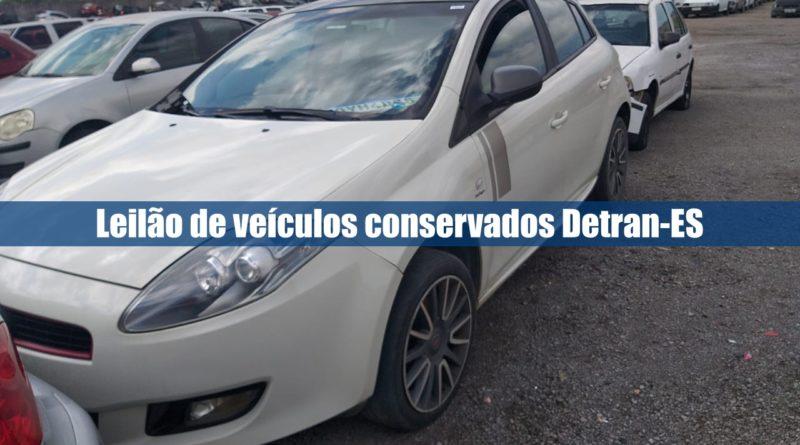 Leilão de veículos conservados Detran-ES