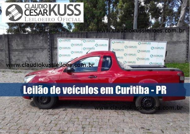 Leilão de veículos recuperados de financiamento em Curitiba - PR