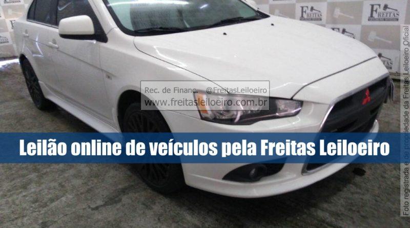 Freitas Leiloeira abre leilão online com 410 veículos seminovos