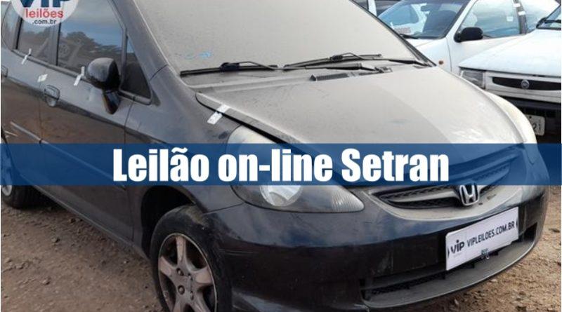 Leilão Setran tem diversos veículos recolhidos de via pública
