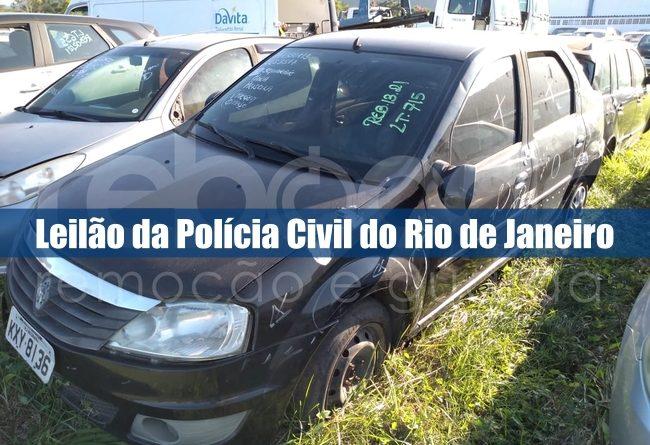 Polícia Civil abre leilão online com 207 veículos apreendidos