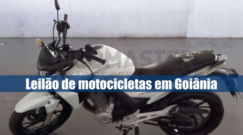 Leilomaster abre leilão com 32 motocicletas, em Goiânia