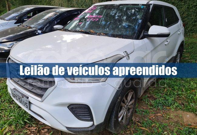 Leilão de Veículos está aberto no Rio de Janeiro pela Rebocar