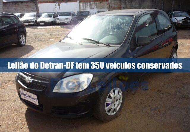 Detran-DF realiza leilão online de 350 veículos entre motos e carros em condições de uso