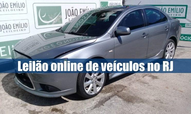 Leilão online de veículos recuperados aberto na leiloeira João Emílio