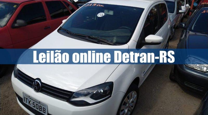 Detran-RS abre leilão online com 373 veículos conservados