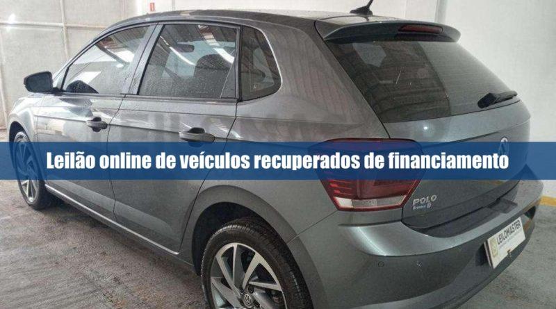 Leilomaster abre novo leilão online de veículos recuperados de financiamento