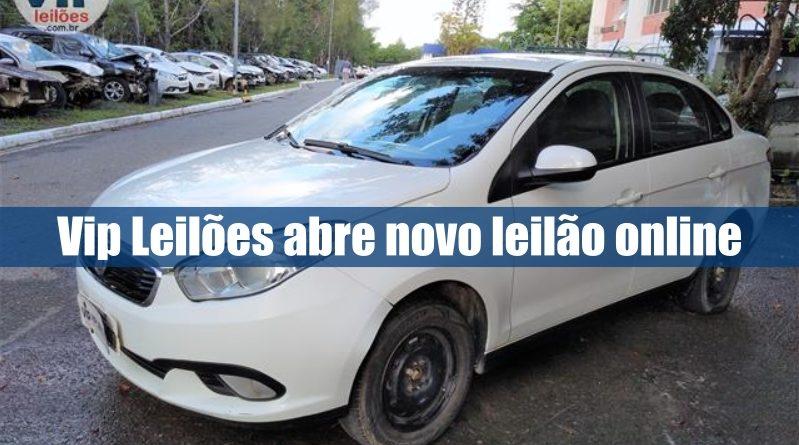 Vip Leilões abre novo leilão online de veículos recuperados de financiamento