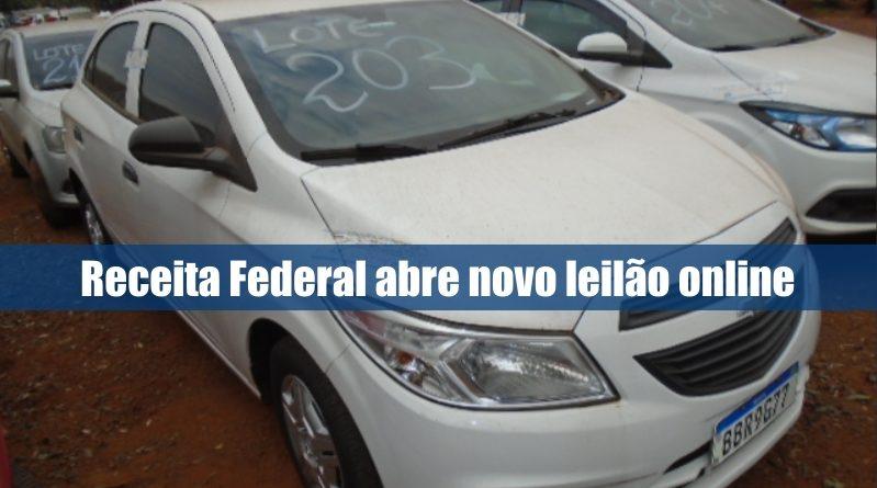 Receita Federal abre novo leilão online de veículos e eletrônicos em Foz do Iguaçu, no Paraná