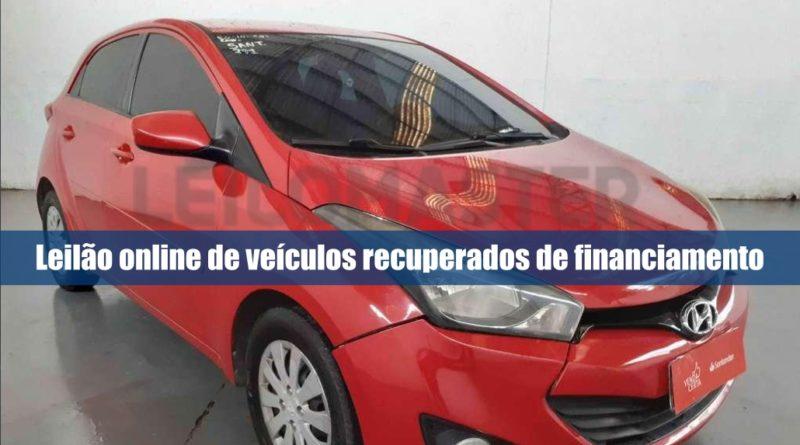 Leilão de veículos recuperados de financiamento na Leilomaster