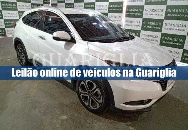 Leilão de veículos na leiloeira Guaríglia