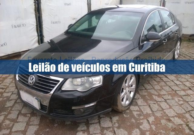 Leilão de veículos na Favareto Leilões em Curitiba