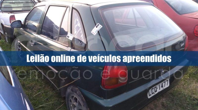 Detro-RJ abre novo leilão online de veículos apreendidos
