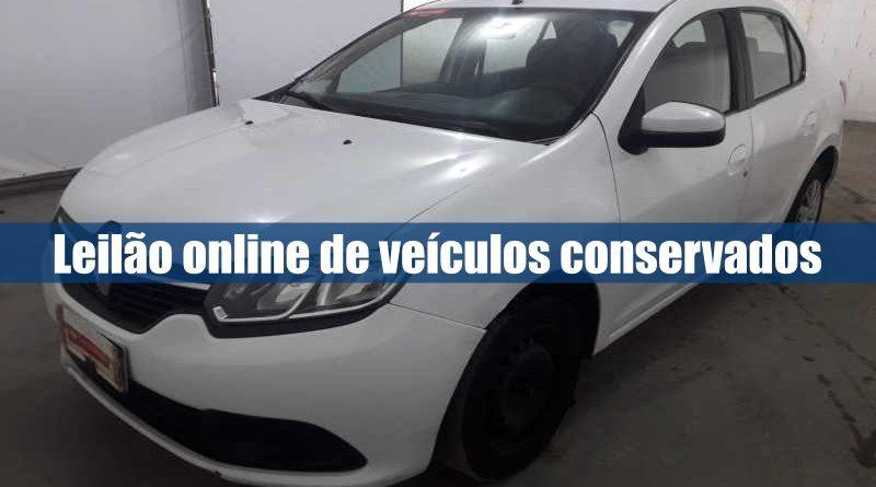 Leilão online de veículos conservados
