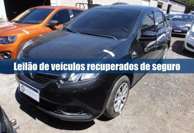Leilão de veículos da Seguradora Banestes em Guarapari ES
