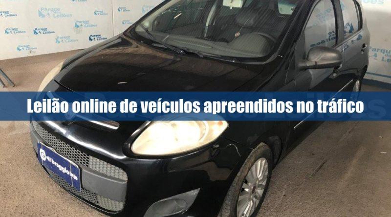 Senad abre novo leilão online de veículos apreendidos no tráfico
