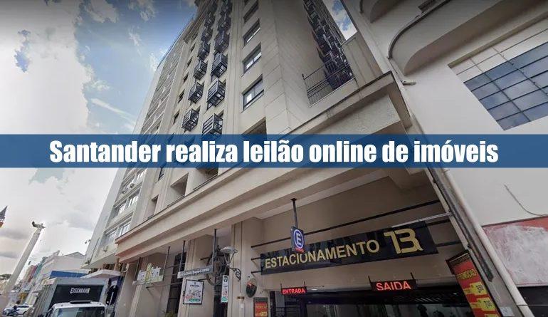 Santander realiza leilão de imóveis