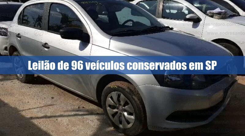 Leilão de veículos provenientes de bancos e seguradoras