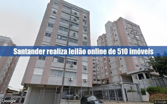 Santander realiza leilão de 510 imóveis
