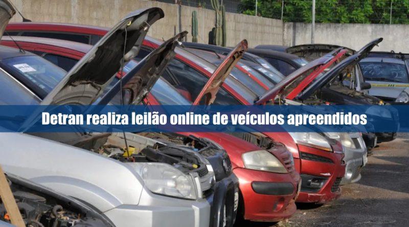 Detran realiza leilão online de veículos apreendidos no DF