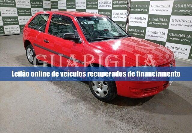 Guariglia abre leilão online com 144 veículos recuperados de financiamento