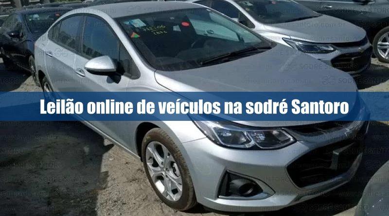 Sodré Santoro abre novo leilão online de veículos recuperados de financiamento