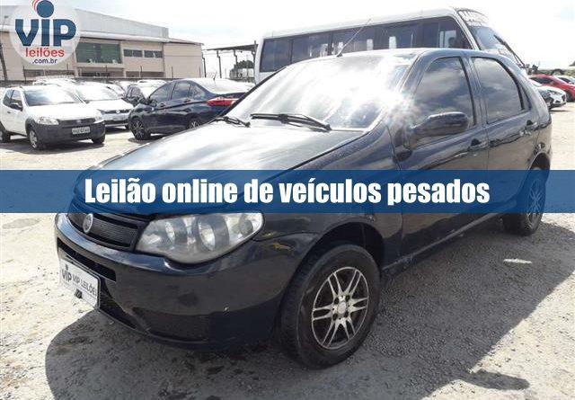 Leilão de veículos pesados está aberto para lances pela Vip Leilões