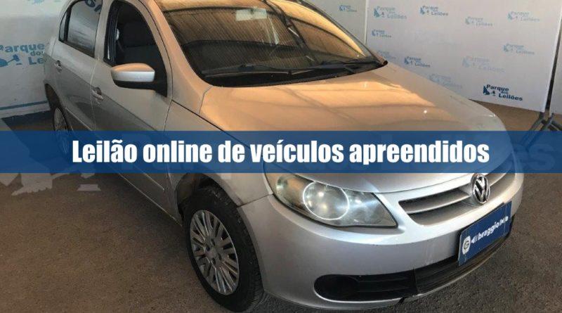 Parque dos leilões abre novo leilão online de veículos apreendidos pelo Senad