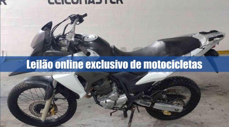 Leilomaster realiza novo leilão de motos