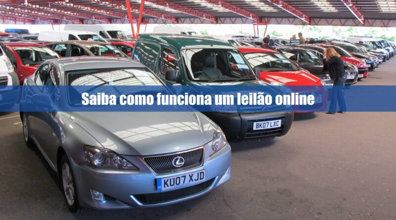 Saiba como funciona os leilões online de veículos